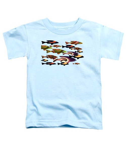 Fish Of A Different Color Toddler T-Shirt