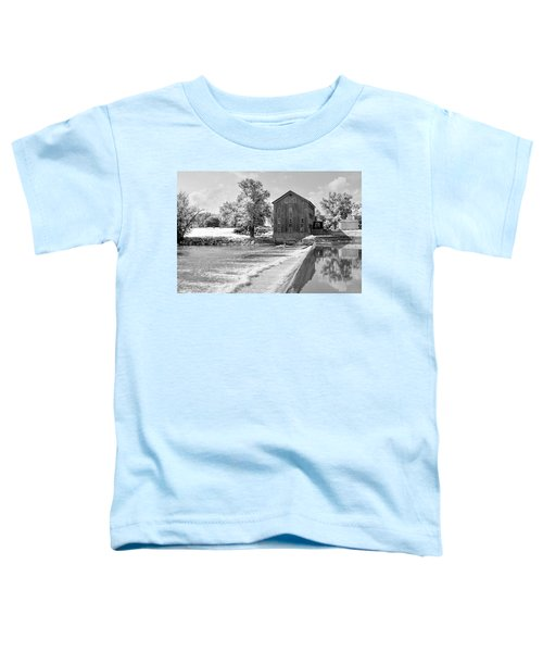Toddler T-Shirt featuring the photograph Grist Mill by Andrea Platt