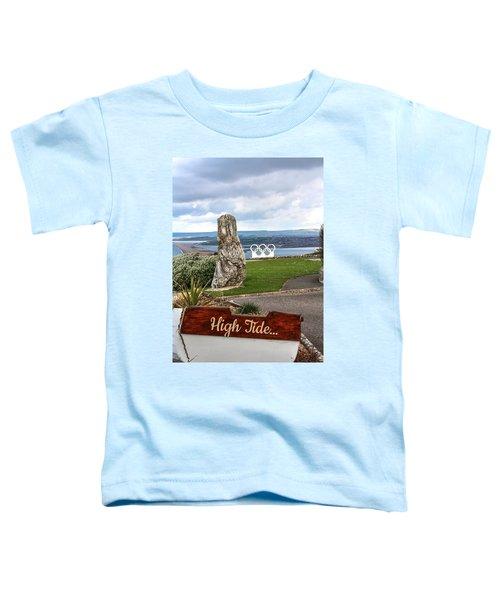 High Tide Toddler T-Shirt