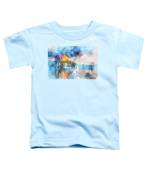 Home On The Ocean In Ambergris Caye Belize Toddler T-Shirt
