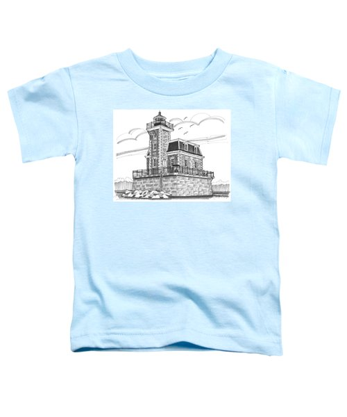 Hudson-athens Lighthouse Toddler T-Shirt