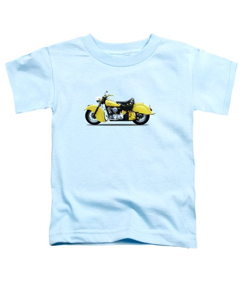 Indian Chief 1951 Toddler T-Shirt by Mark Rogan
