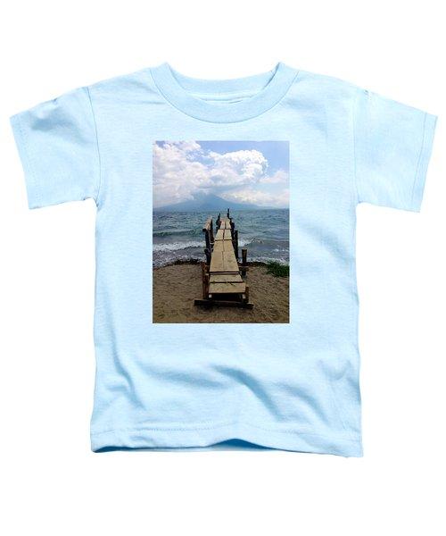 Lake Atitlan Dock Toddler T-Shirt