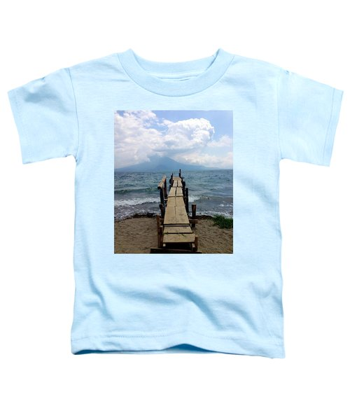 Lake Atitlan Dock Toddler T-Shirt