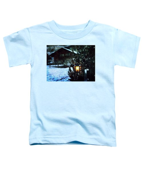 Lantern In The Woods Toddler T-Shirt
