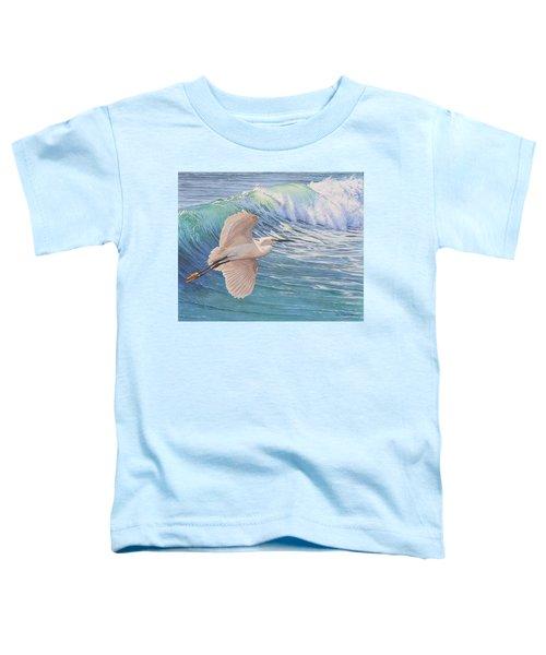Little Egret Toddler T-Shirt