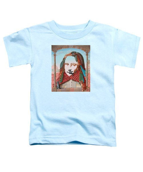 Mona Lisa. Air Toddler T-Shirt