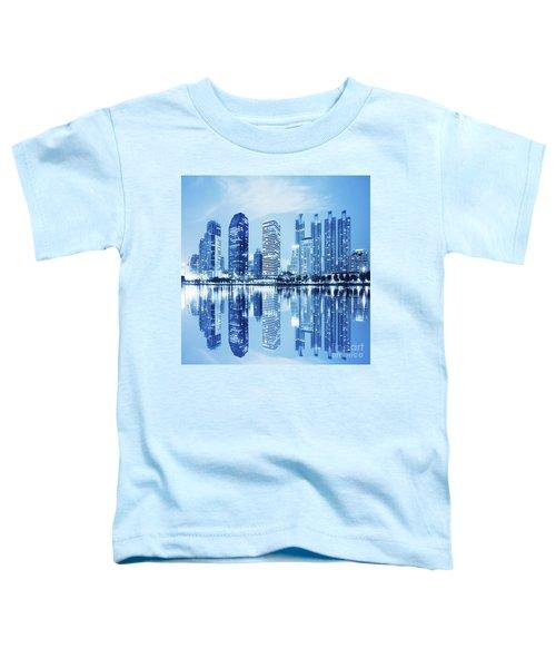 Night Scenes Of City Toddler T-Shirt