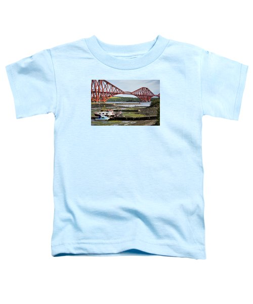 Toddler T-Shirt featuring the photograph North Queensferry by Jeremy Lavender Photography