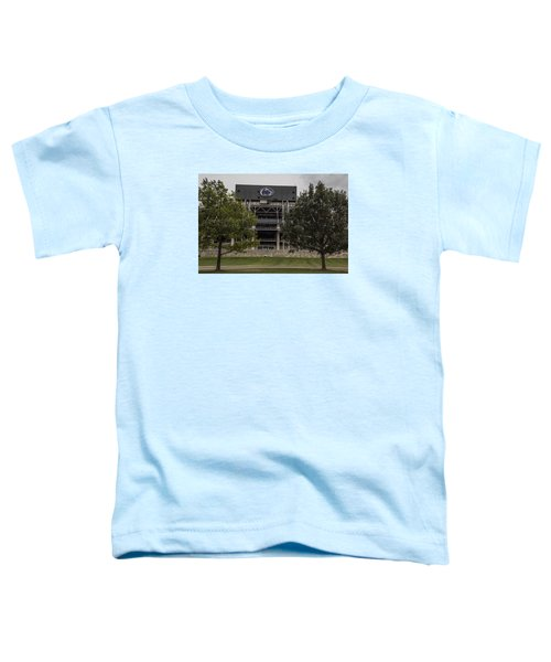 Penn State Beaver Stadium  Toddler T-Shirt by John McGraw
