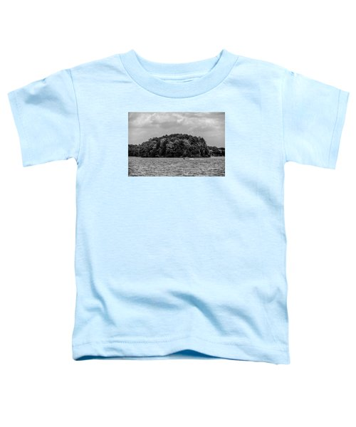 Relaxing On Lake Keowee In South Carolina Toddler T-Shirt