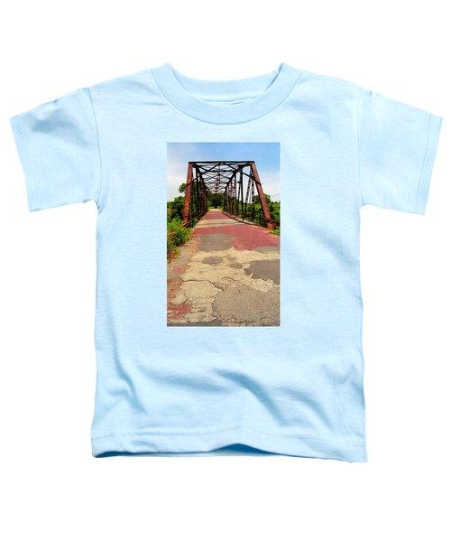 Route 66 - One Lane Bridge Toddler T-Shirt