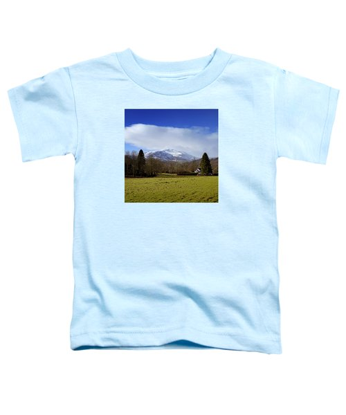 Toddler T-Shirt featuring the photograph Scottish Scenery by Jeremy Lavender Photography