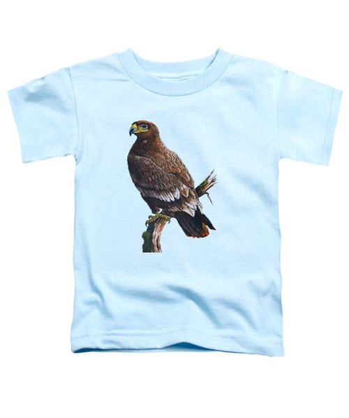Steppe-eagle Toddler T-Shirt by Anthony Mwangi