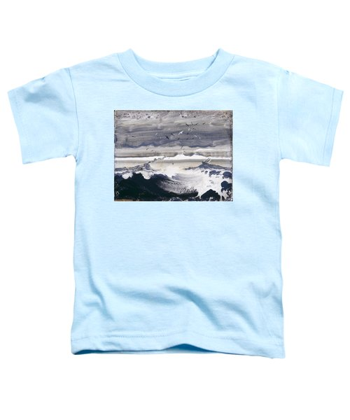 Stormy Sea Toddler T-Shirt