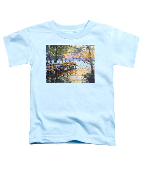 Sunset At Fishermans Park Toddler T-Shirt
