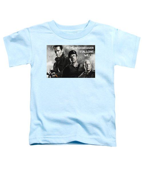 The Expendables 2 Toddler T-Shirt