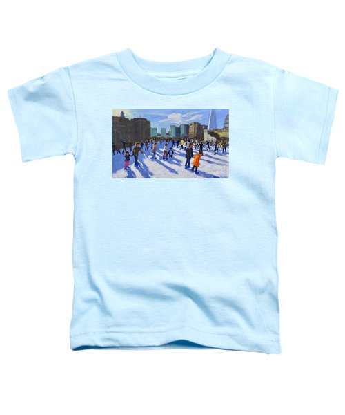 Tower Of London Ice Rink Toddler T-Shirt