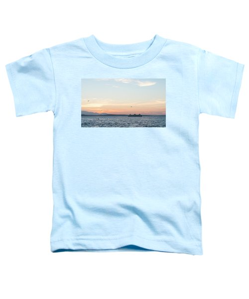 Twilight In Puget Sound Toddler T-Shirt