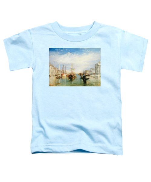 Venice, From The Porch Of Madonna Della Salute Toddler T-Shirt