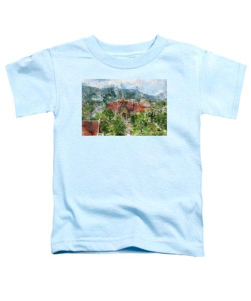 Wat Chalong In Phuket Thailand Toddler T-Shirt