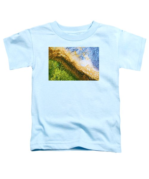 Yellowstone Abstract Toddler T-Shirt