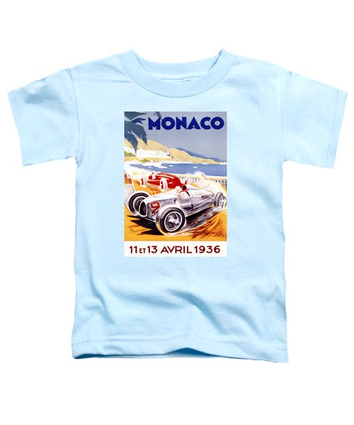 1936 F1 Monaco Grand Prix  Toddler T-Shirt