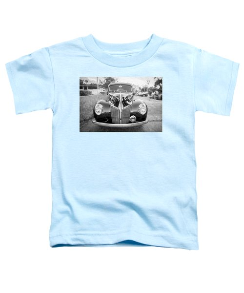 1941 Ford Deluxe Panel Truck Bw C138 Toddler T-Shirt