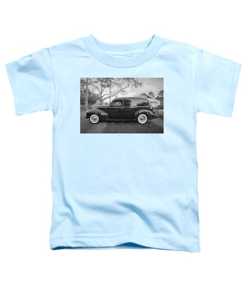 1941 Ford Deluxe Panel Truck Bw C140 Toddler T-Shirt
