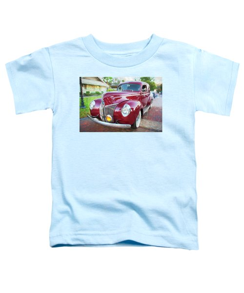 1941 Ford Deluxe Panel Truck C135 Toddler T-Shirt