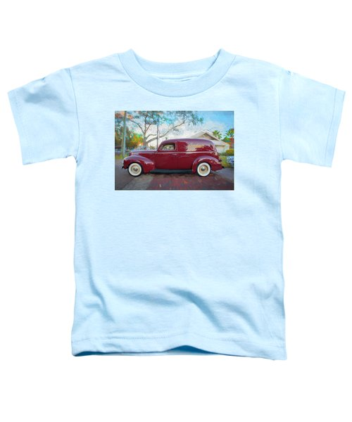 1941 Ford Deluxe Panel Truck C139 Toddler T-Shirt