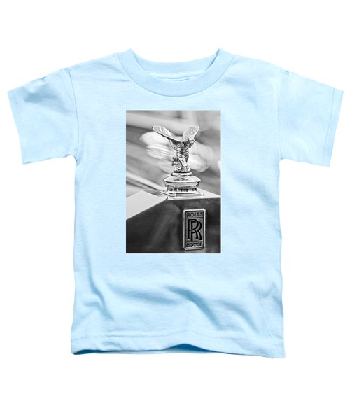 1952 Rolls-royce Silver Wraith Hood Ornament 2 Toddler T-Shirt
