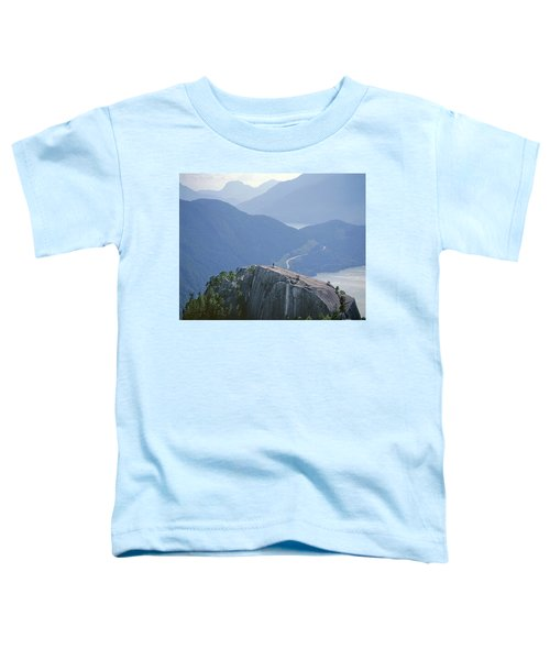 1m2918 South Summit Stawamus Chief From Second Summit Toddler T-Shirt