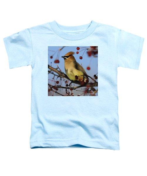 Cedar Waxwing... Toddler T-Shirt