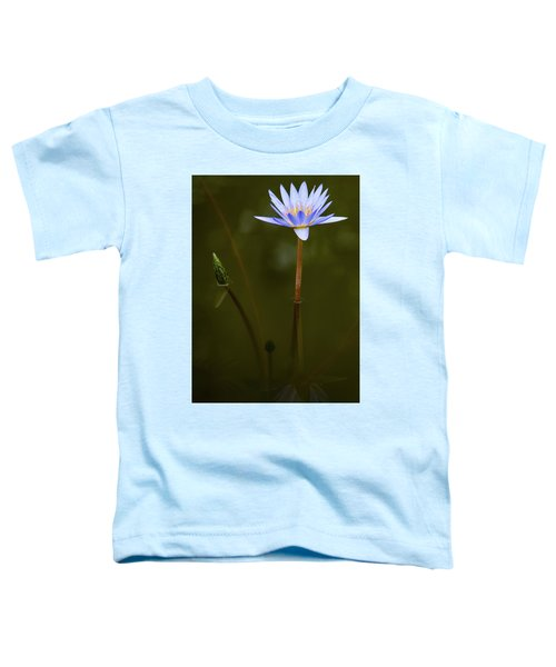 Deep Lily Reflection Toddler T-Shirt