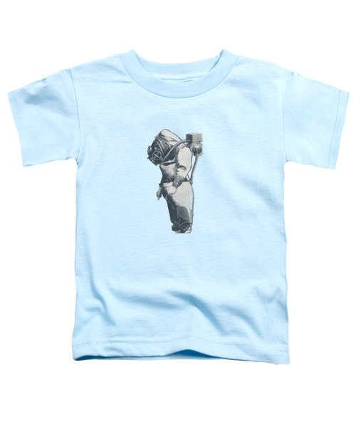 Deep Sea Diver - Nautical Design Toddler T-Shirt