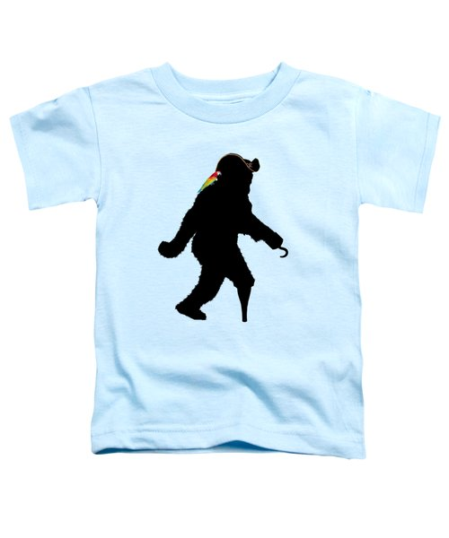 Gone Squatchin Fer Buried Treasure Toddler T-Shirt by Gravityx9  Designs