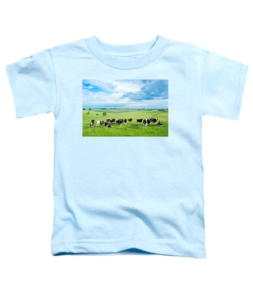 Happy Cows Toddler T-Shirt