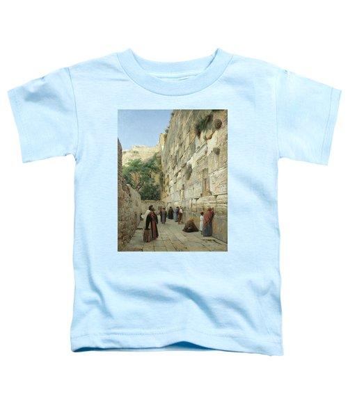 The Wailing Wall, Jerusalem Toddler T-Shirt