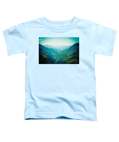 Valley Himalayas Mountain Nepal Toddler T-Shirt