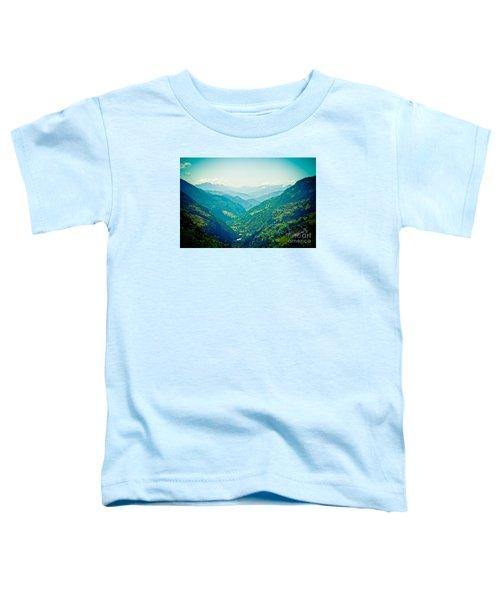 Valley Himalayas Mountain Nepal Toddler T-Shirt