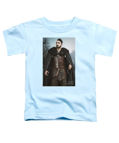 Viking Warrior With Sword Toddler T-Shirt