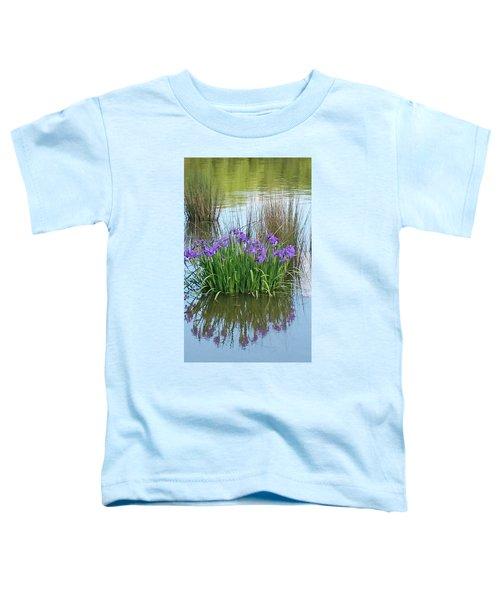 Iris Toddler T-Shirt by Sobajan Tellfortunes