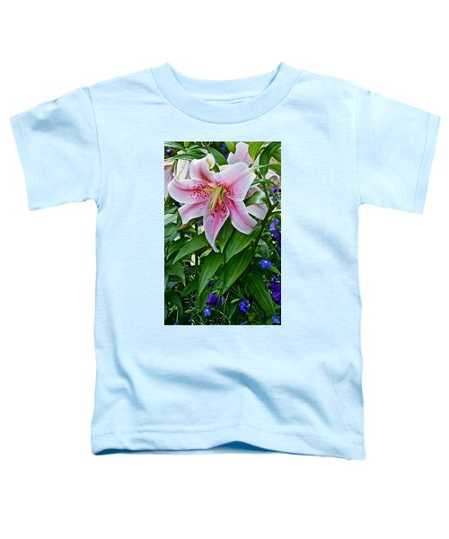 2015 Summer At The Garden Event Garden Lily 3 Toddler T-Shirt