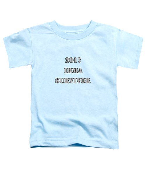 2017 Irma Survivor Toddler T-Shirt