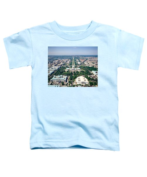 Aerial View Of Buildings In A City Toddler T-Shirt