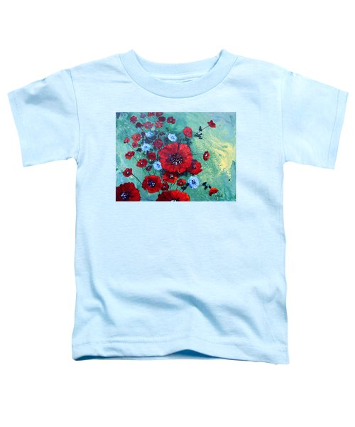 #27 Spring And Summer Floral Series Toddler T-Shirt