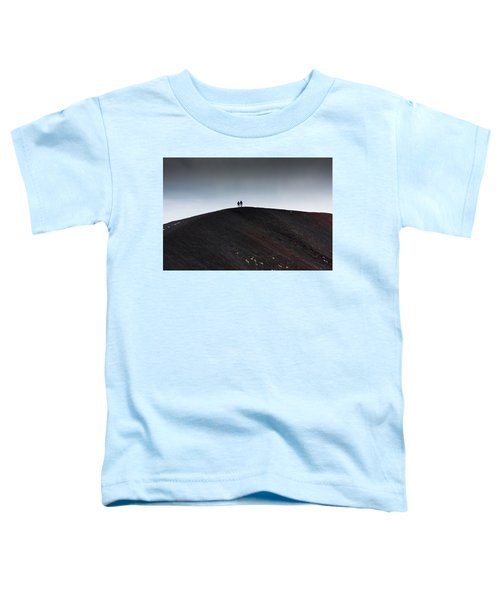 Etna, The Volcano Toddler T-Shirt