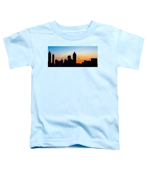 Sunset In Atlanta Toddler T-Shirt