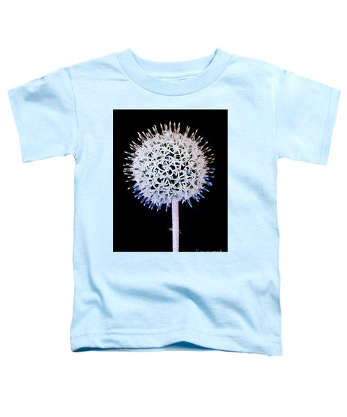 White Alium Onion Flower Toddler T-Shirt